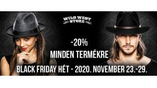 Ismét Black Friday a Wild West Store-ban!