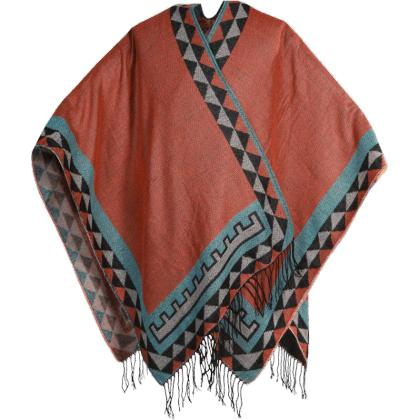 PONCHO INDIAN TERRACOTTA